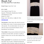 Heads Up! For This Jones New York Dress