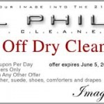 Save in May at Al Phillips the Cleaner – Coupons