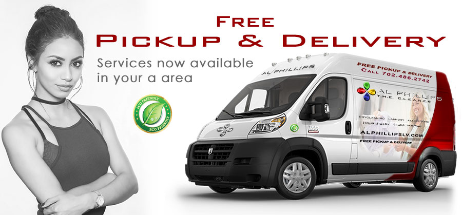 Pickup & Delivery Dry Cleaning Service from Al Phillips